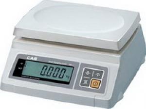 Настольные фасовочные весы CAS SW